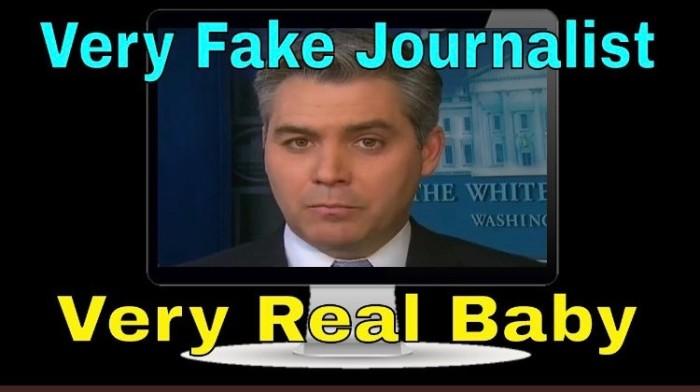 Acosta-fake journalist