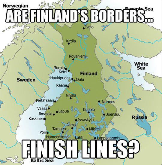 Finland's borders