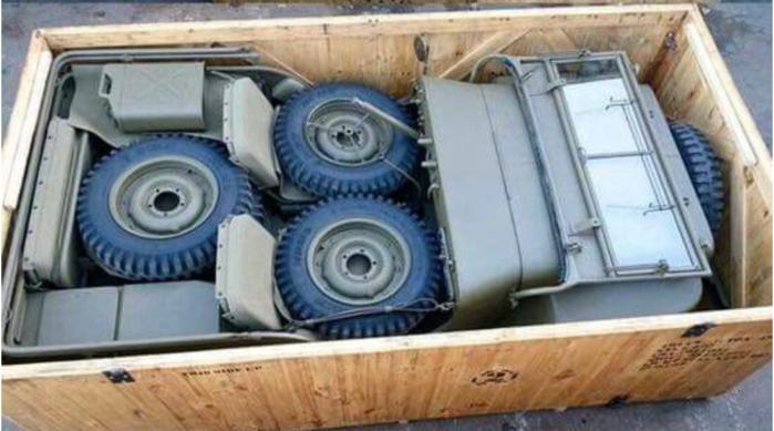 Jeep-knock down kit