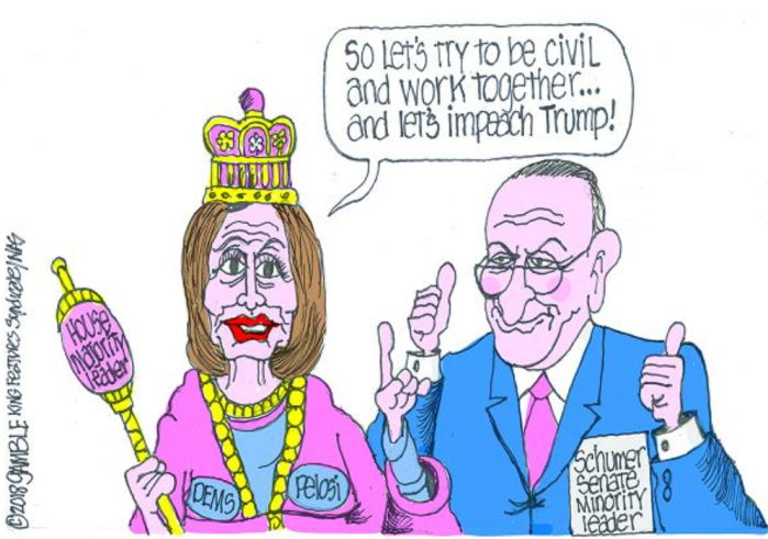 Nancy P. Lousy-Schmuck-impeach Trump