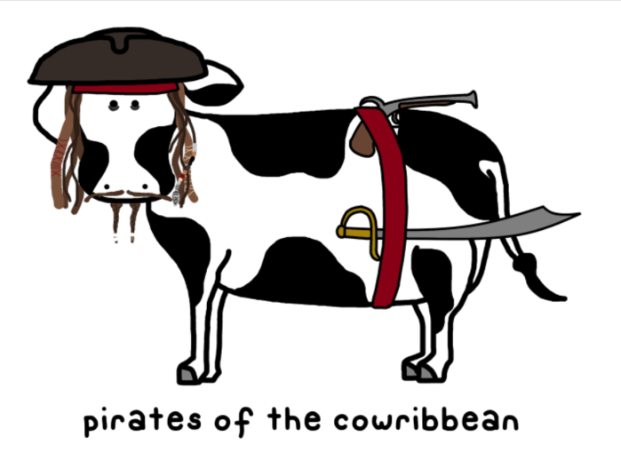 Pirates of the Cowribbean
