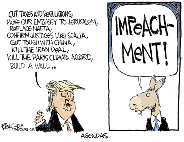 'Rats-impeachment agenda