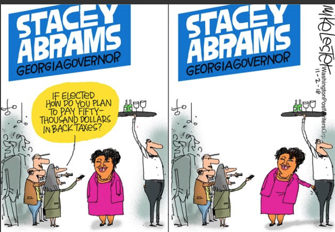 Stacey Abrams IRS