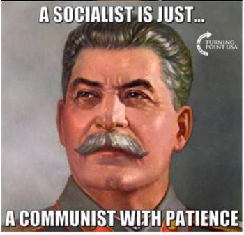Stalin: socialist-communist w:patience