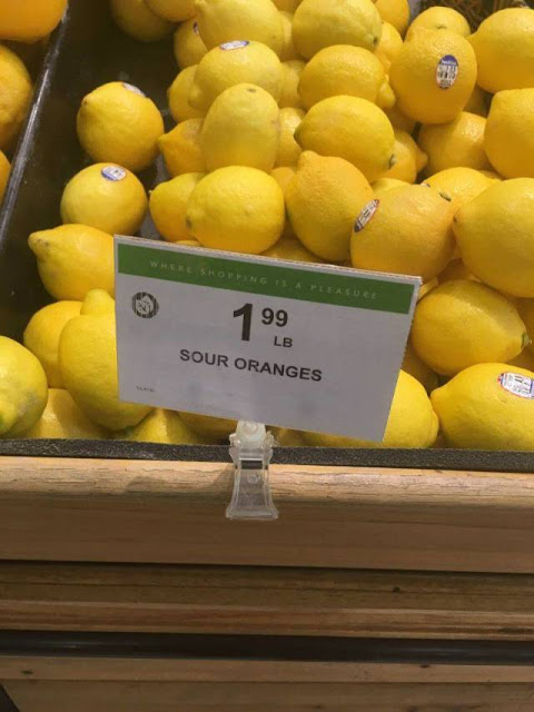 You had 1 job - lemons