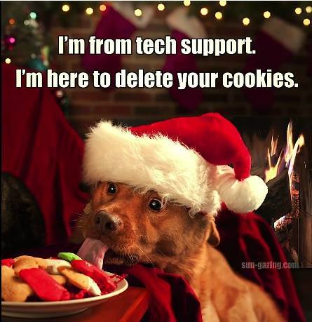 Delete your cookies