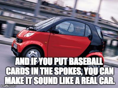 Smart-baseball cards