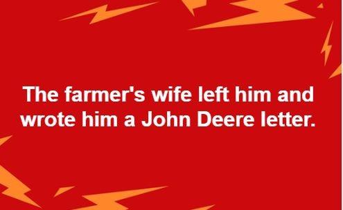 Deere John letter