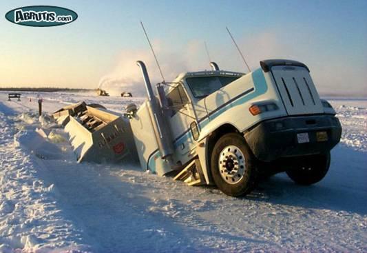 HWYM-truck in snow