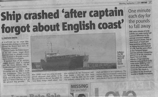 crashed-english coast