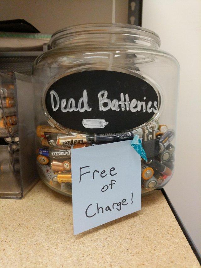 dead batteries