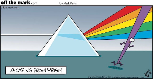 escaping from prism
