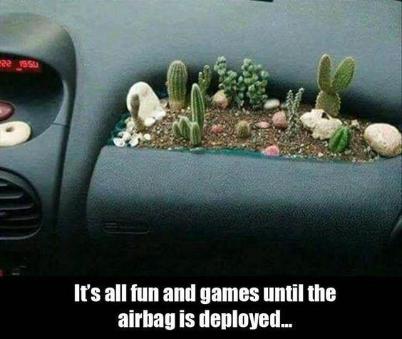 fun and games-airbag