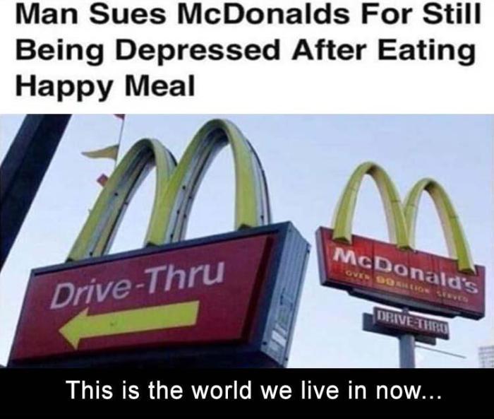 happy meal - depressed