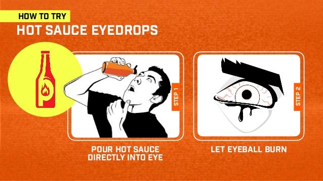 hot sauce eyedrops