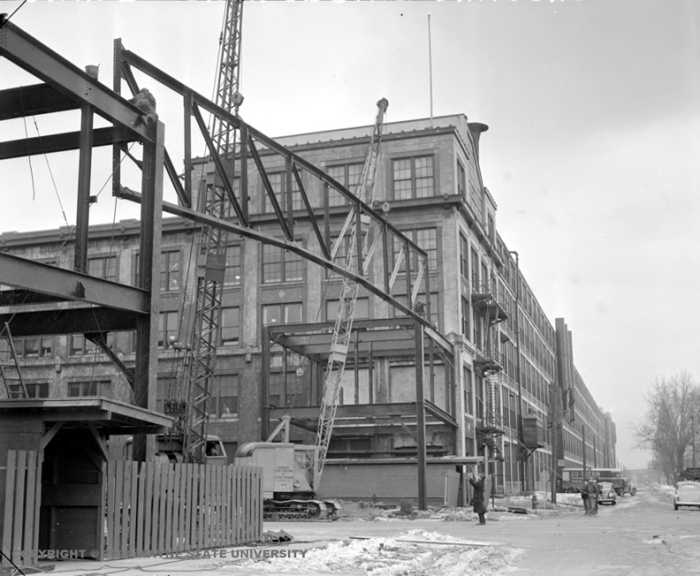 packard bridge under construction