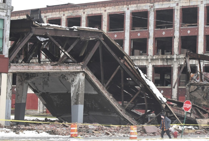 packard plant bridge collapse