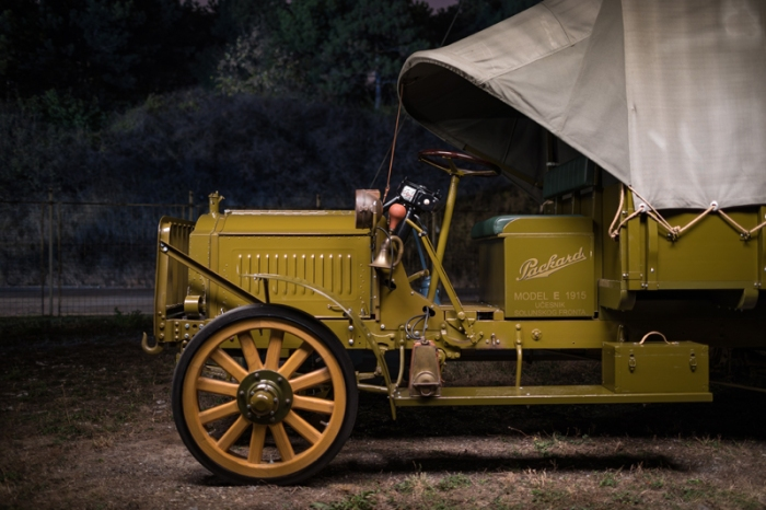 packard truck at night 3