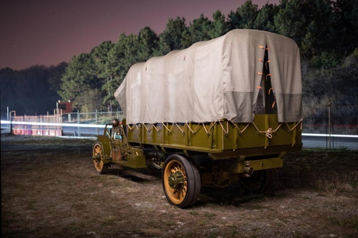 packard truck at night 4