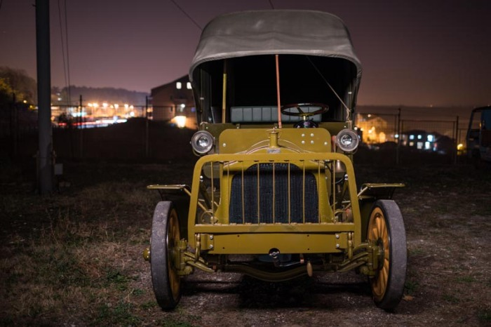 packard truck at night 7