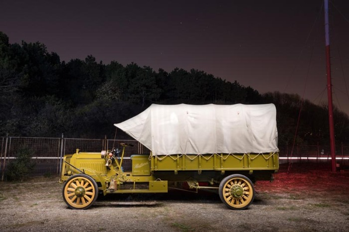 packard truck at night 8