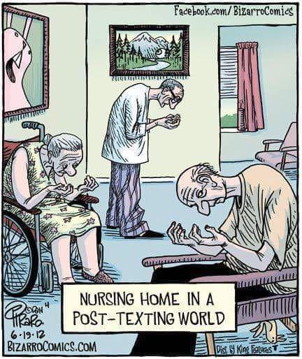 post-texting nursing home