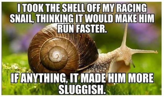 sluggish