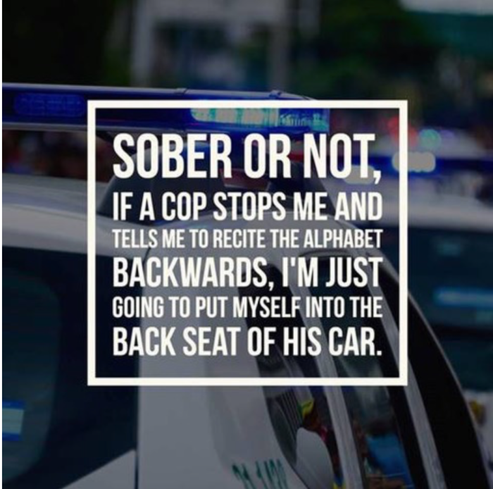 sober or not