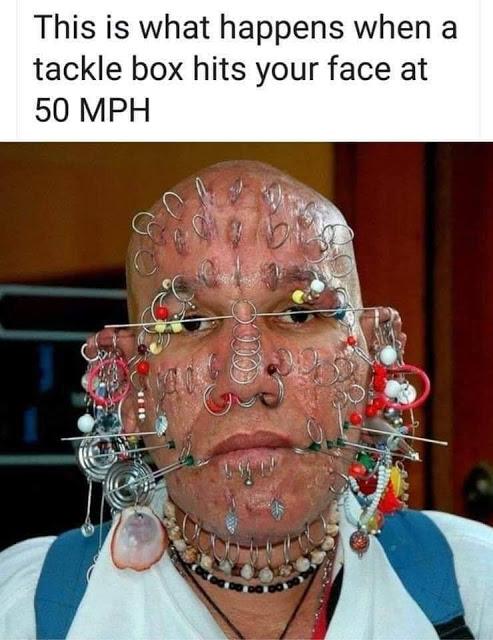tackle box at 50 mph