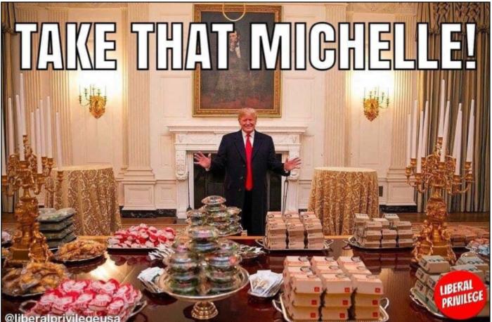 take that, michelle