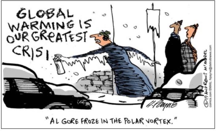 Al Gore-polar vortex