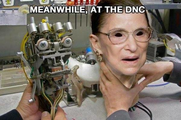 Meanwhile at the DNC