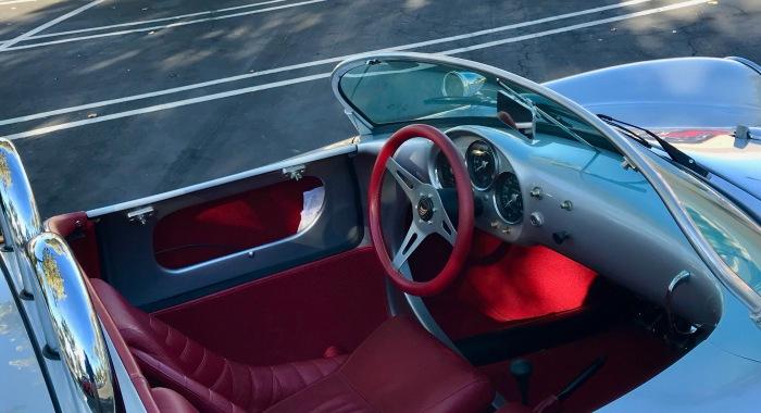 Porsche 550 Spyder-cockpit