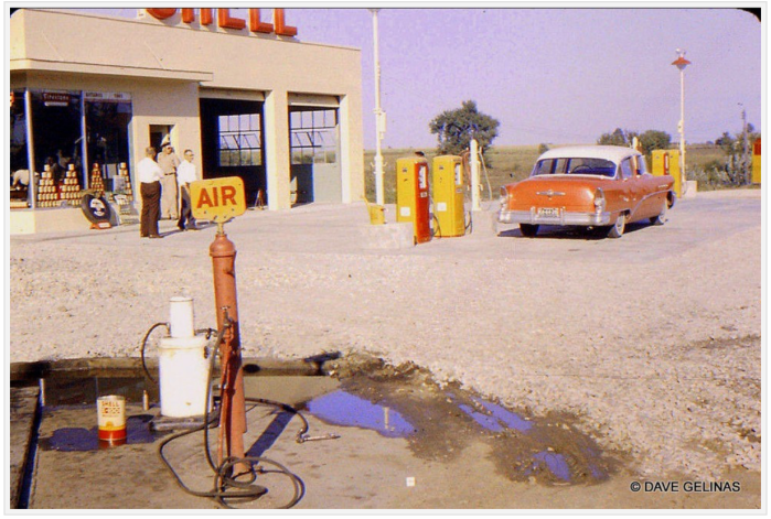 Shell station - MO 1950's
