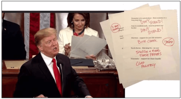 SOTU-Nancy P. Lousy's notes