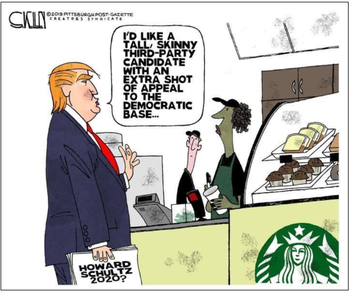 Trump-Schultz-Starbucks