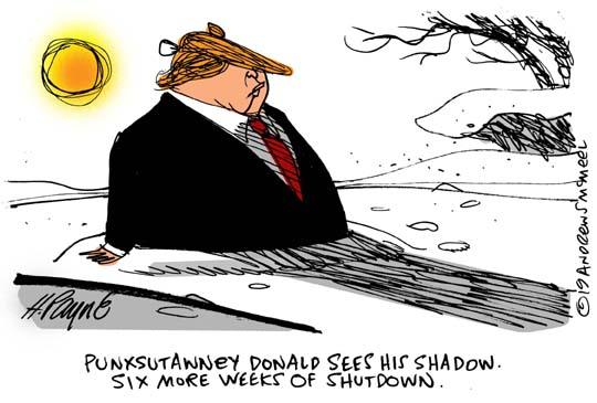 TrumpGroundhogShutdown