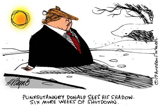 TrumpGroundhogShutdown