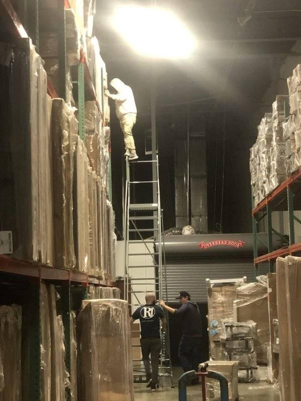 WWLLTM-warehouse ladder