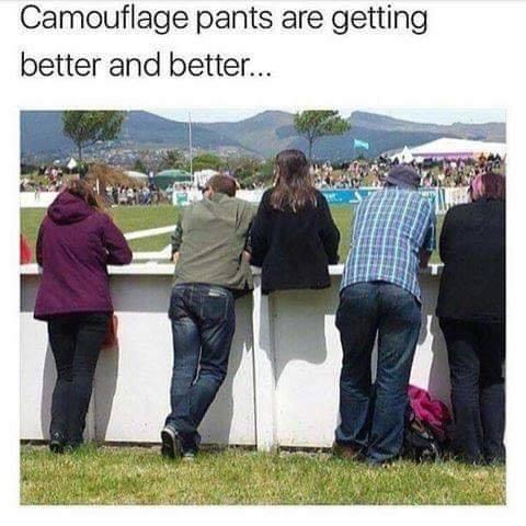 Camoflage pants