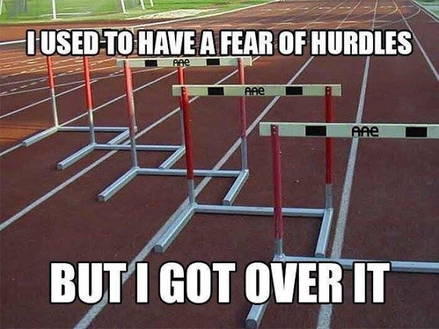 Got over hurdles