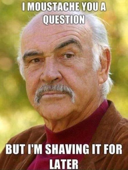 Moustache you a question