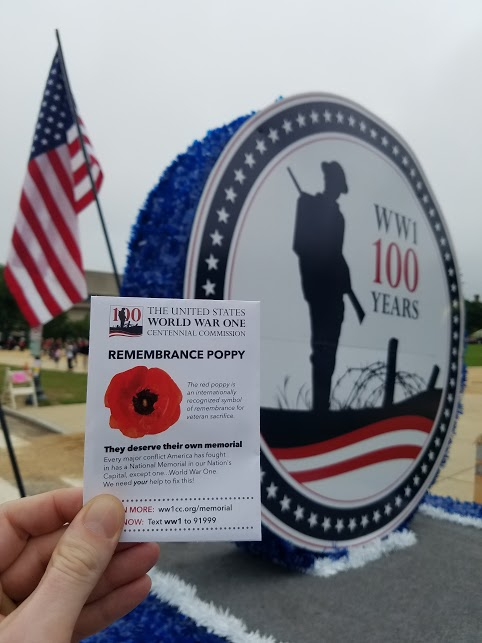 Poppy Seed remembrance packet