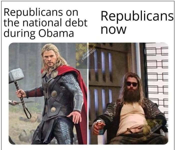 Republicans on debt
