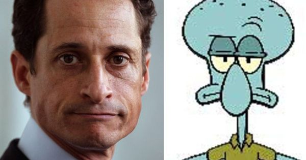 Separated at Birth-Wiener and Squidward