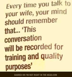 Training purposes
