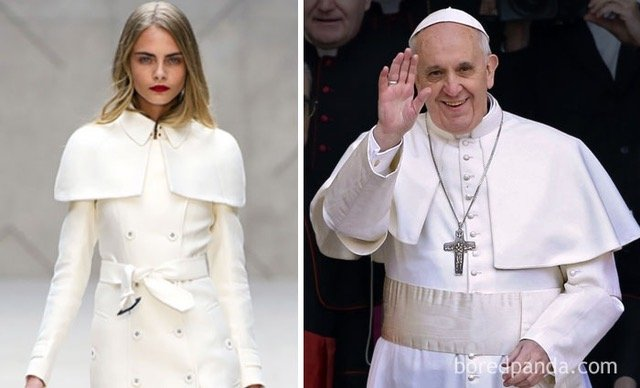 who wore it better-pope