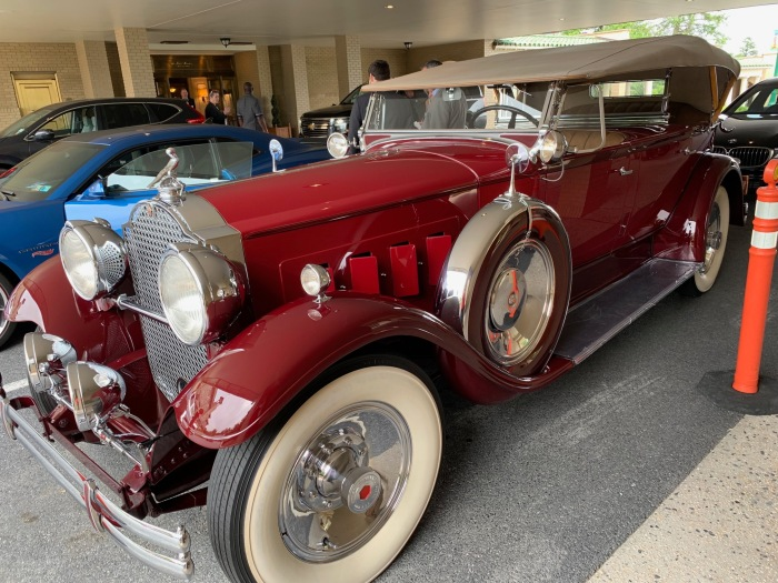 1930 Packard at Hershey
