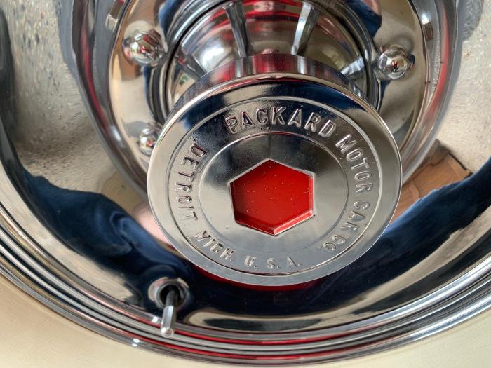 1930 Packard hub cap