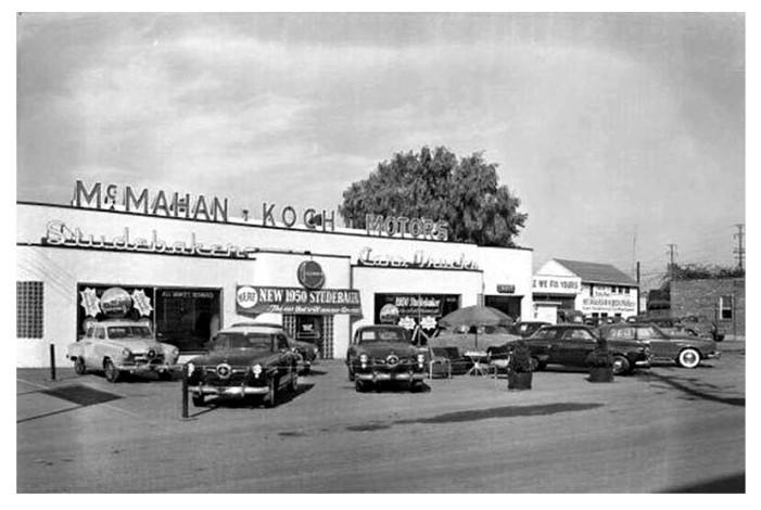 '50 Studebakers
